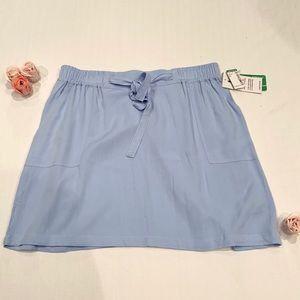 On hold Twik baby blue pocket skirt